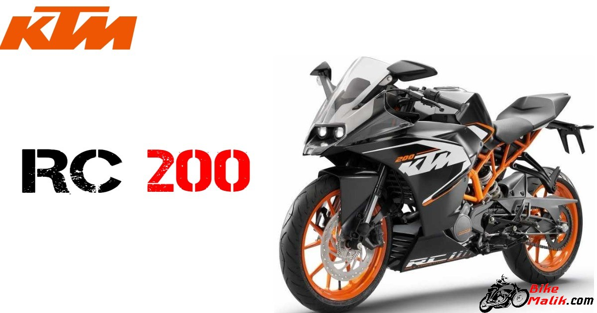 2018 KTM RC 200 Price, Features, Specs, Mileage, Colors & Images