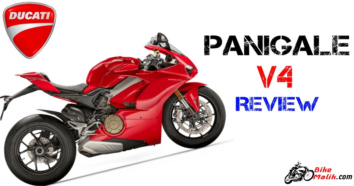 Ducati Panigale V4 : Review