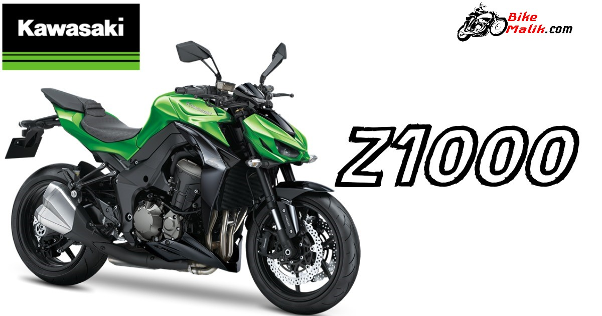 Kawasaki Z1000 Gets Offered In Colors Like Green Black The Rider Can Experience Power Packed Engine Performance Which Gives Speedy Drives Without