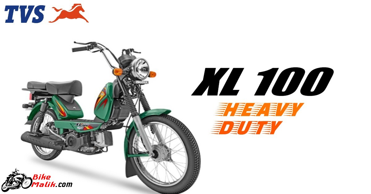 TVS XL 100 Heavy Duty Features, Specs, Colors, Mileage, Details, Images & 360 View