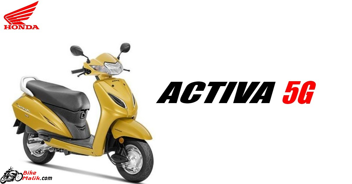 Honda Activa 5G Features, Specs, Colours, Price, Mileage, Images & 360 View